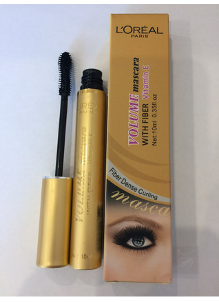 Volume Mascara With Fiber