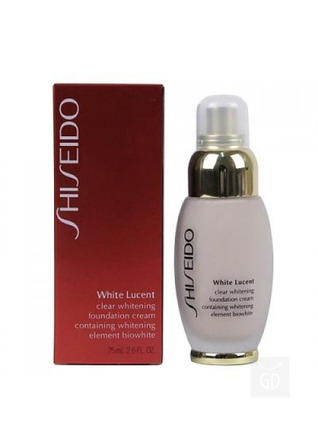 Тональный крем Shiseido White lucent Clear Whitening Foundation Cream